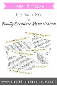 free printable scripture memory cards 52 weeks family bible
