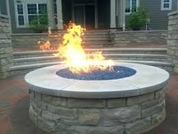 Custom Gas Fire Pits - fire pit gas conversion kit convert your wood fire pit to propane