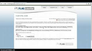 Country Code Flags How To Install Flag Counter In Your Blog Youtube