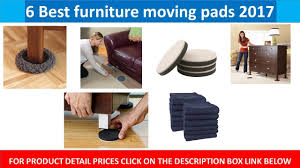 6 best furniture moving pads 2017