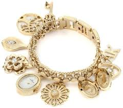 anne bracelet images Anne klein womens 10 8096chrm swarovski crystal accented gold tone jpg