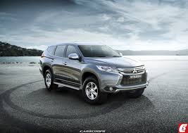 mitsubishi pajero sport 2018 all new mitsubishi pajero sport rendered india launch likely to