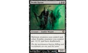 zombiés dominí mono black legacy mtg deck
