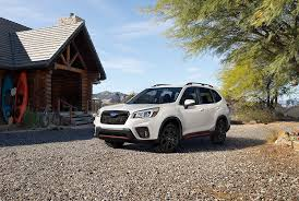 subaru forester lowered all new 2019 subaru forester debuts at new york international auto