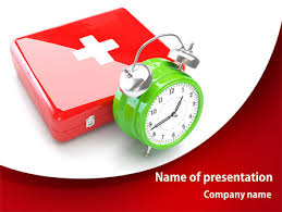 medical emergency powerpoint template backgrounds 08280