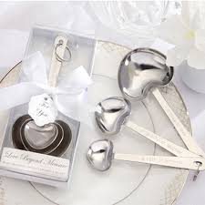 silver party favors wedding favors