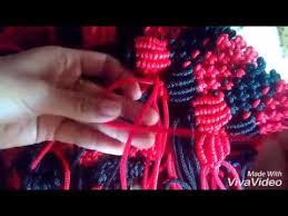 youtube cara membuat tas rajut dari tali kur tutorial rajut tas bahan tali kur motif jagung bagian 4 youtube