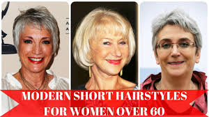 modern short hairstyles for women over 60 youtube
