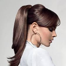 ponytail hairstyles for women s hairstyles ponytail hairstyles for work with bangs easy