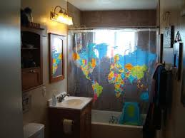 Shower Curtain Map Six Shower Curtains U2013 Ugly House Photos