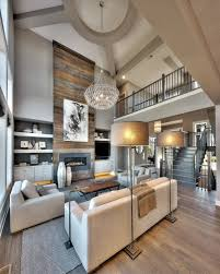 Big Living Room Rugs Large Living Room With Coffered Ceiling Stone Fireplace Dark