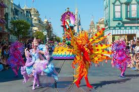 festival of parade magic kingdom
