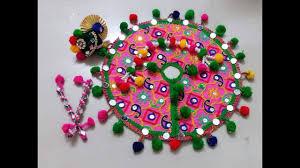 Decorate Dandiya Sticks Home by Diy Navratri 2017 Decoration Art U0026 Craft Ideas