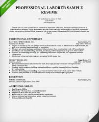General Laborer Sample Resume by Winsome Ideas Construction Resumes 1 Construction Worker Resume