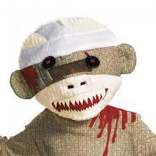 Sock Monkey Costume Zombie Sock Monkey Disguise