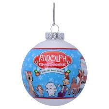 ornament rudolph the nosed reindeer