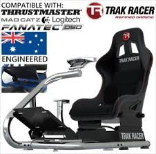 Racing Simulator Chair Trak Racer Rs6 Premium Gaming Racing Simulator Race Sim Seat Cockpit