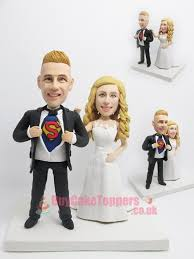 superman wedding cake topper superman themed cake topper custom cake toppers personalised