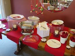 how to set up a buffet table how to set up a christmas buffet table