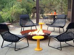 Fire Pit Tables And Chairs Sets - gas fire pit tables and chairs sets uk backyard with round fire