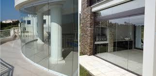 frameless glass patio doors sunflex frameless glass installations ggs frameless