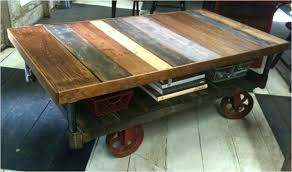Rustic Industrial Coffee Table Awesome Industrial Coffee Table Cart Awesome Home Design