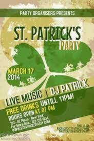 st patrick u0027s day poster templates postermywall