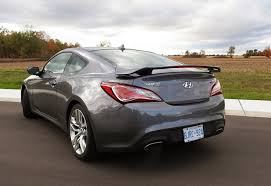 genesis hyundai coupe 2015 2015 hyundai genesis coupe r spec review wheels ca