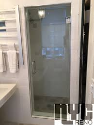 Shower Door Nyc Single Door Custom Glass Shower Doors Nyc Reno