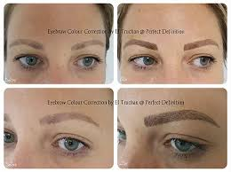 tattoo eyebrows lancashire correction removal of permanent makeup cosmetic tattoo in london