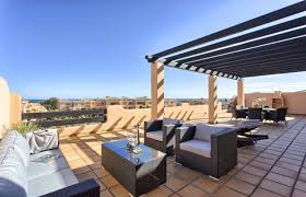 beachside penthouse for sale in casares beach with large terrace
