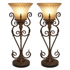 table top torchiere uplight table designs