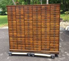 antique 1920 u0027s cincinnati oh history oak filing cabinet apothecary