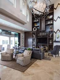drew and jonathan scott u0027s living room includes this large two