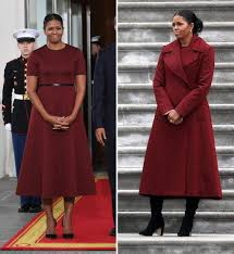 obama dresses obama looks ravishing in at the inauguration