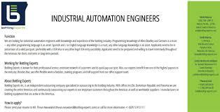 Automation Engineer Resume Bottling Experts Linkedin