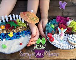 Fairy Garden Craft Ideas - fairy garden party kit fairy garden kit fairy garden party