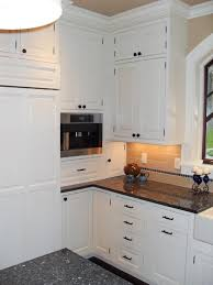 white appliances white cabinets interesting cozy kitchen with