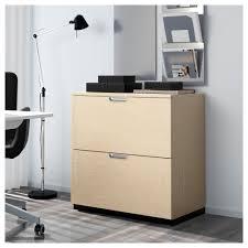 Ikea Kitchen Cabinet Warranty Galant Drawer Unit With Drop File Storage Birch Veneer 80x80 Cm Ikea