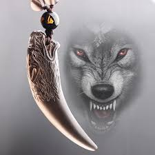 mens wolf tooth necklace images Usd 31 89 smart natural ice obsidian wolf necklace men wolf head jpg