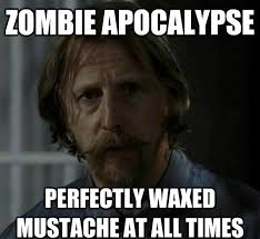 Funny Mustache Memes - the 30 best walking dead memes tv galleries paste