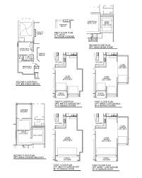 plan f762 the woodlands at creekside 75 u0027 in the woodlands tx