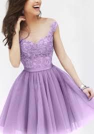 light purple short dress purple floral grenadine puffy lace sleeveless crochet sweet cute