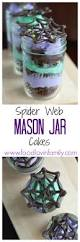 Spider Cakes For Halloween Mason Jar Cakes Food Lovin Family
