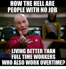 Meme Jobs - how the hell are people with no job living better than full time