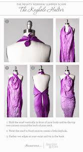 9 ways to transform your scarf into a sarong the style canvas