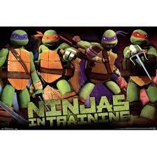 teenage mutant ninja turtles profile poster print 36 24