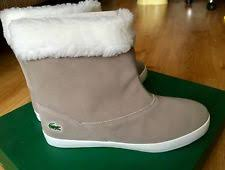 lacoste womens boots uk lacoste suede boots for ebay