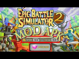 epic apk epic battle simulator 2 v1 3 00 mod apk gameplay