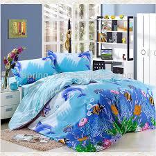 Girls Ocean Bedding by 100 Cotton Ocean Bedding Set Buy Kids Cartoon Bedding Set 3d